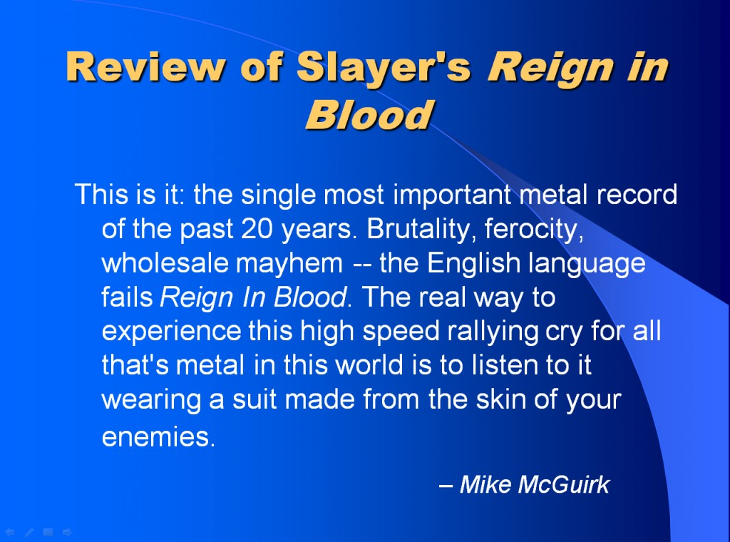 slayer rev