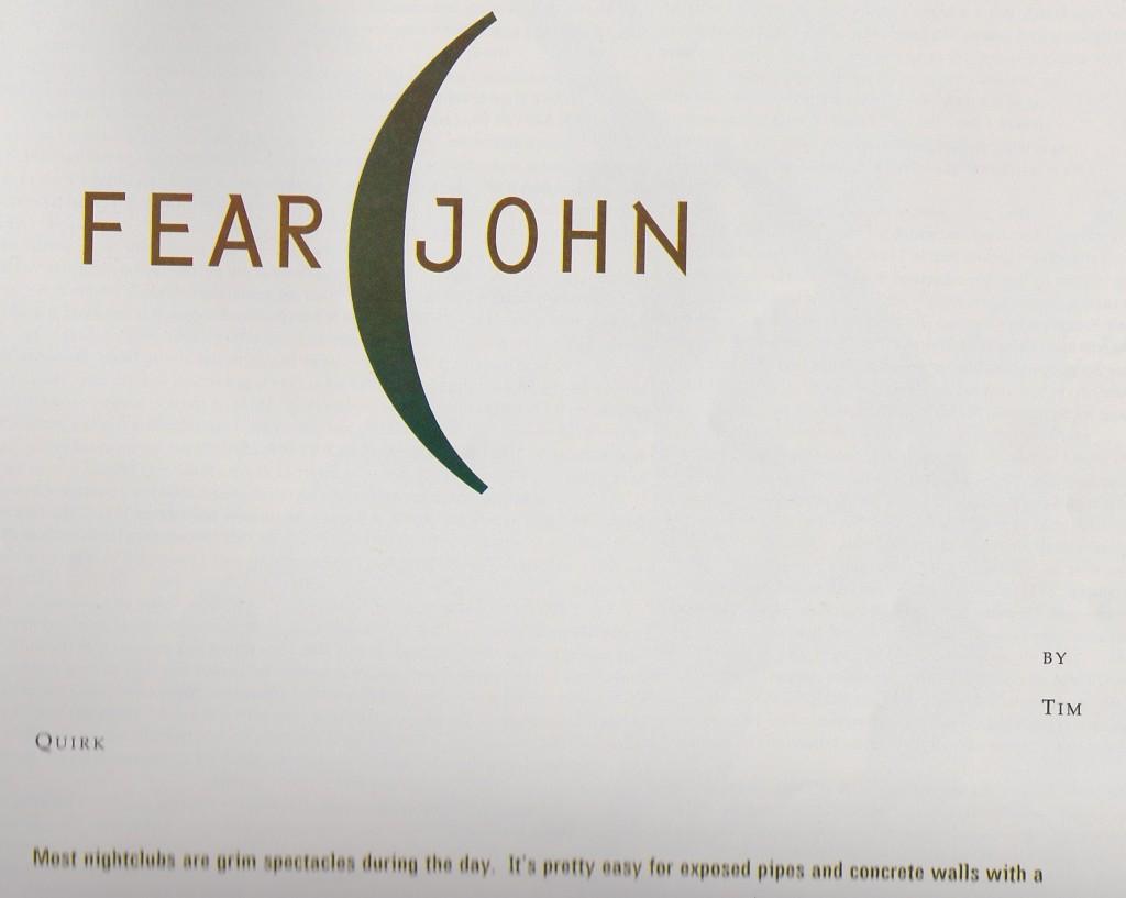 feaR john title